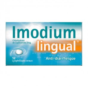 IMODIUMLINGUAL 2mg lyophilisat oral