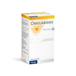 Pilèje Omegabiane Foie de morue 80 capsules