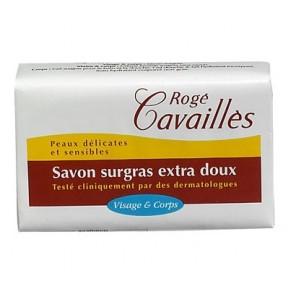 Rogé Cavailles Savon surgras Extra doux Visage et Corps 150g