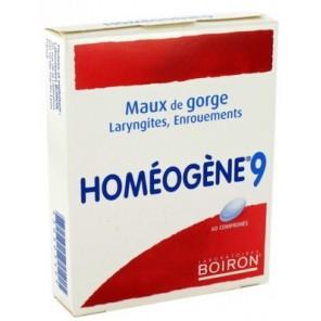 HOMEOGENE 9 comprimé