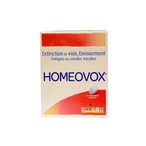 HOMEOVOX Comprimé à sucer B/60