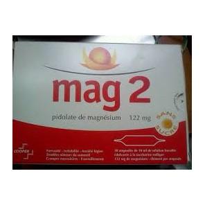 Mag 2 magnésium 30 ampoules, irritabilité nervosité