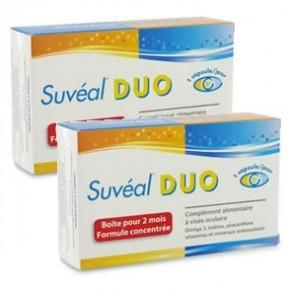 Suvéal complément alimentaire visée oculaire duo 60 capsules