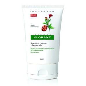 Klorane soin fluide cheveux colorés grenade 100ml
