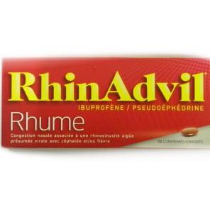 RHINADVIL RHUME ibuprofene Comprimé enrobé B/20