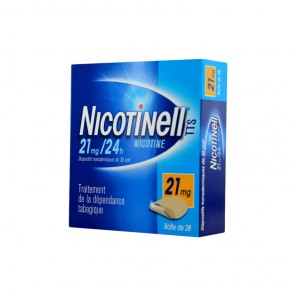 NICOTINELL TTS 21mg/24h dispositif transdermique