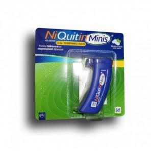 NIQUITINMINIS 1.5mg SANS SUCRE comprimé édulcoré à l'acésulfame potassique nicotine