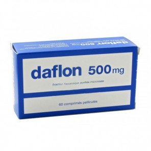 Daflon 500 mg circulation 60 comp