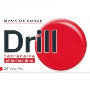 DRILL Pastille à sucer tétracaïne B/24