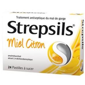 STREPSILS MIEL CITRON pastille à sucer