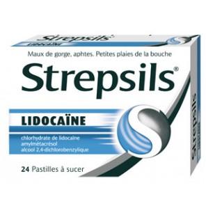STREPSILS LIDOCAINE pastille