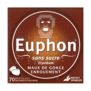 EUPHON SANS SUCRE pastille édulcorée à la saccharine