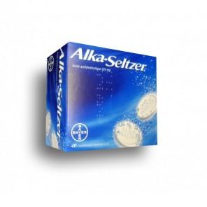 ALKA-SELTZER 324 mg 40 comprimés effervescents