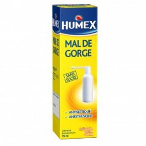 HUMEX Collutoire mal de gorge en fl pressurisé Fl/35ml