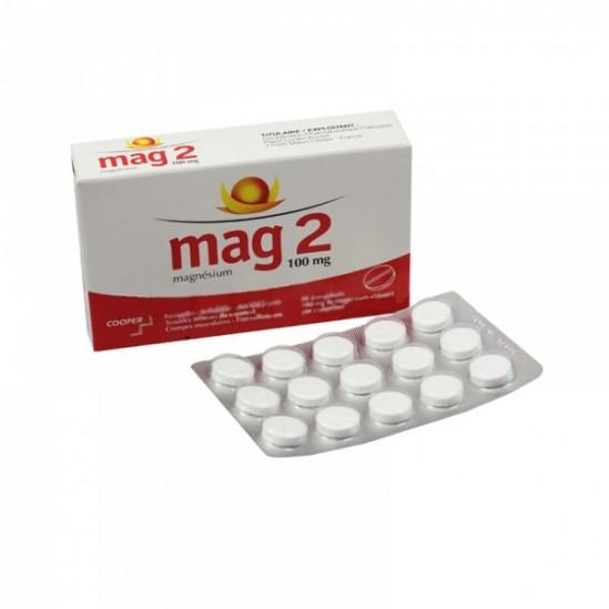 MAG 2 CPR 100MG BT 60