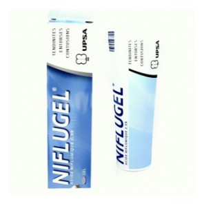 NIFLUGEL GEL PERCUT 2,5% T60G
