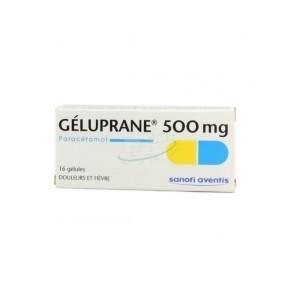 GELUPRANE 500MG GELU BT 16