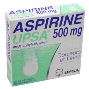 ASPIR UPSA 500MG CPR EFFV 20