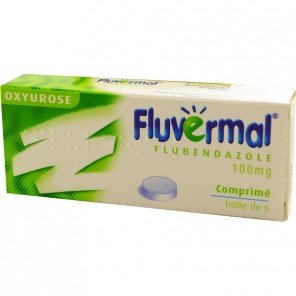 FLUVERMAL CPR 100MG 6