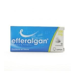 EFFERALGAN 500 mg Comprimé B/16