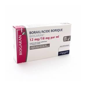 BORAX A BORIQ BIOG SOL OPTH 20