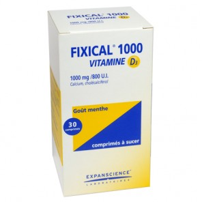 FIXICAL VIT D3 1000MG CPR 30