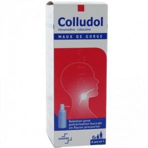 COLLUDOL Solution pour pulvérisation buccale en flacon pressurisé Fl/30 ml + embout buccale