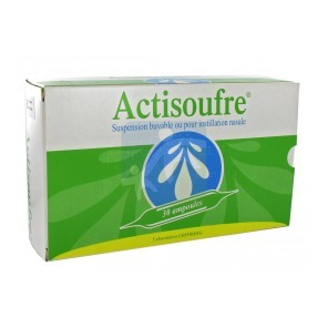 ACTISOUFRE AMP BUV NAS 10ML 30