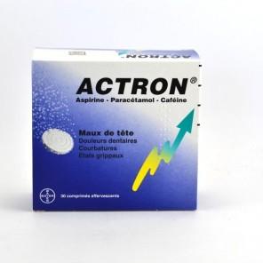 ACTRON Comprimé effervescent B/30