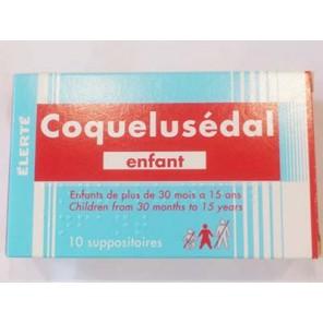COQUELUSEDAL SUP ENF 10
