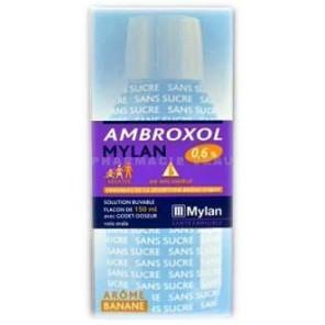 AMBROXOL MYLA 0,6%SOL BUV150ML