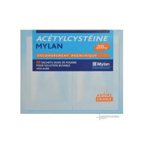 ACETYLCYSTEINE ABBOTT FRANCE 200 mg, poudre pour solution buvable en sachet-dose