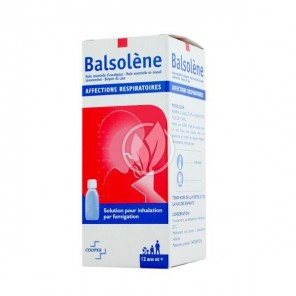 BALSOLENE Solution pour inhalation 1Fl/100ml