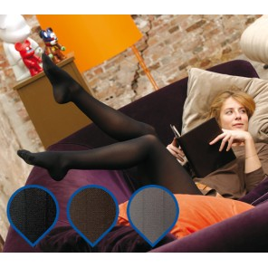 Venoflex Kokoon® Milleraies Chaussette Classe 2 NOIRE T4 Long