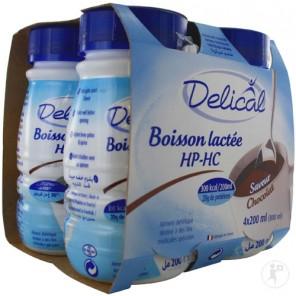 DELICAL BOISSON HP HC LACTEE Nutriment chocolat