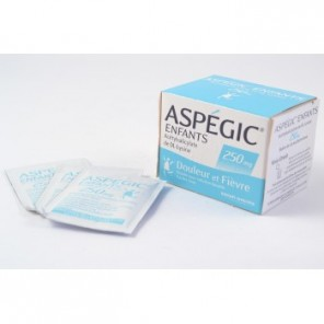 ASPEGIC 250MG PDR SAC 20