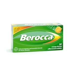 BEROCCA CPR EFFV CA MG BT 30