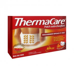 THERMACARE Patch chauffant dos B/2