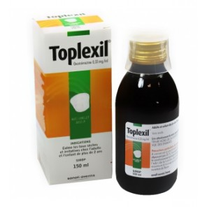 TOPLEXIL 0,33 mg/ml Sirop Fl/150ml