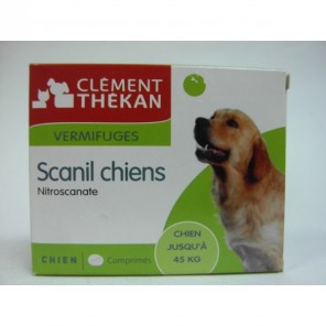 SCANIL VERM CHIENS 500MG BT4 V