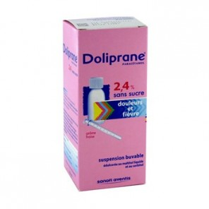 DOLIPRANE 2,4 % Suspension buvable édulcorée Flacon/100ml