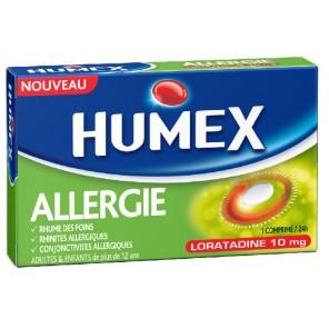 HUMEX 10 mg Comprimé allergie loratadine Plaquette/7