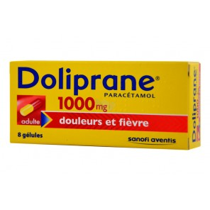 DOLIPRANE 1000MG GELU BT 8
