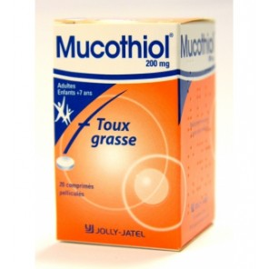 MUCOTHIOL 200MG CPR BT20