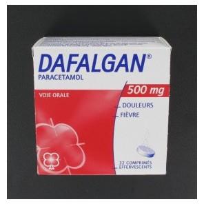 DAFALGAN 500MG CPR EFFERV BT16