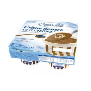 DELICAL CREME LA FLORIDINE HP HC Nutriment café 4Pots/200g