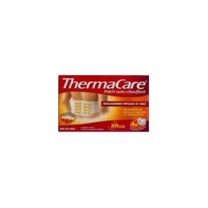 THERMACARE Patch chauffant dos Pack/4