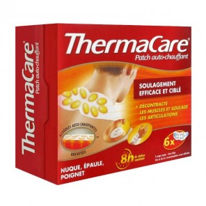 THERMACARE Patch chauffant nuque épaule poignet Pack/6