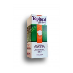 TOPLEXIL 0,33 mg/ml Solution buvable sans sucre édulcoré Fl/150ml