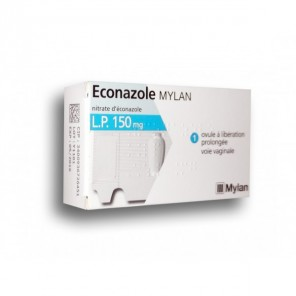 ECONAZOLE MYLAN LP 150 mg Ovule LP Plq/1